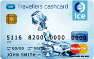 Ice-euro-currency-card