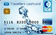 Ice-dollar-currency-card
